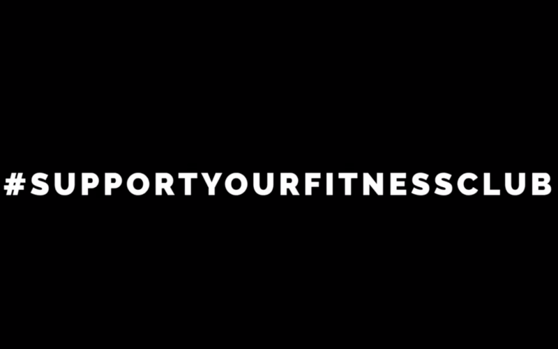 #SupportYourFitnessclub